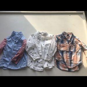 18-24 Mo Toddler Boy Dress Shirts (3)